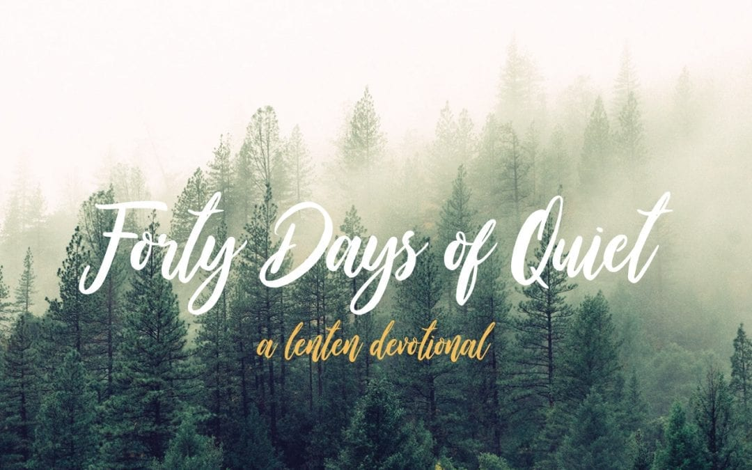 40 days: a devotional